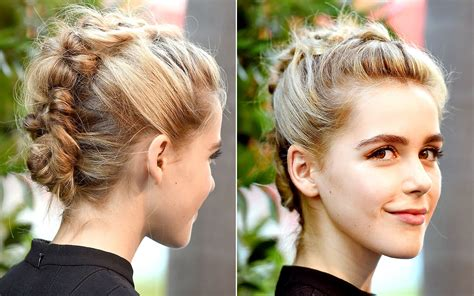 braided hairstyles red carpet stunning celebs u braided hairstyles on the red carpet