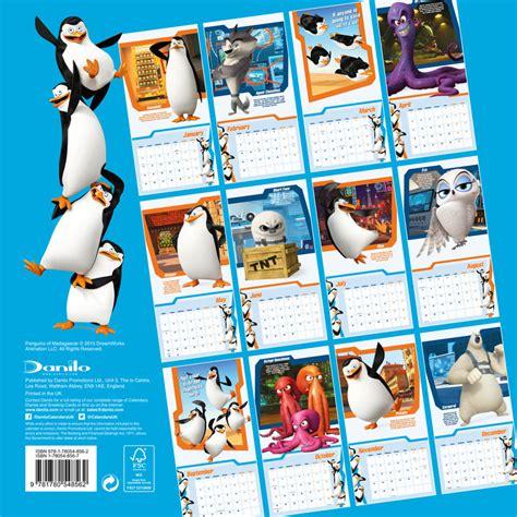 Madagascar Calend 2018 Penguins Of Madagascar Calendars 2018 On Abposters