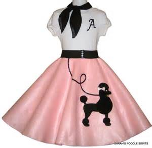 custom made to order girls 3pc quot patty quot poodle skirt