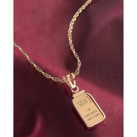 what is jewelry one gram gold ingot pendant 95860 jewelry at sportsman