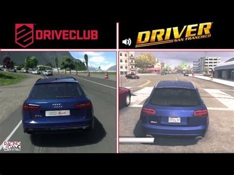 San Francisco Audi by Driveclub Vs Driver San Francisco Audi Rs6 Avant