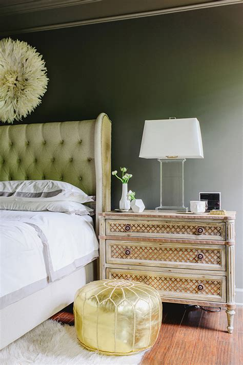 olive green wallpaper idea wall l colors 40 bedroom paint ideas to refresh your space for spring