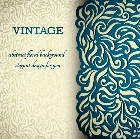 free royal background pattern vintage royal blue pattern background free vector download