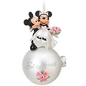 disney parks wedding minnie and mickey mouse bride and