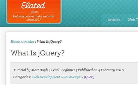 jquery tutorial with exles for beginners page not found error 404 web design professionals