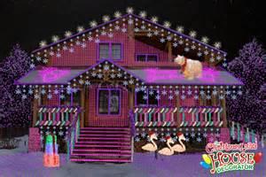 the christmas lights house decorator display of the day