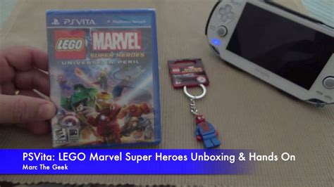 5 new year unboxing psvita lego marvel heroes unboxing on