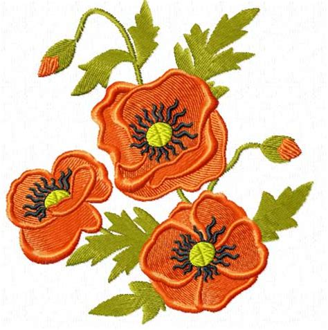 embroidery design hd poppies and wheat 18 machine embroidery designs set ebay