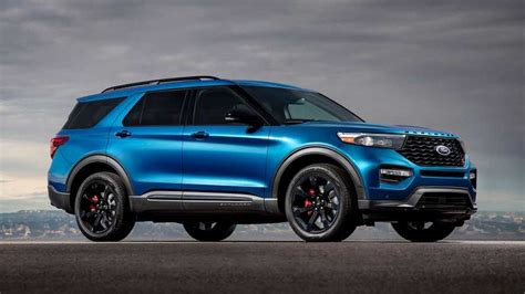 Ford Usa Explorer 2020 by 2020 Ford Explorer St Is A 400 Horsepower Crossover For