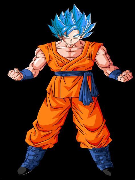 imagenes goku azul ranking de los personajes mas fuertes de dragon ball super
