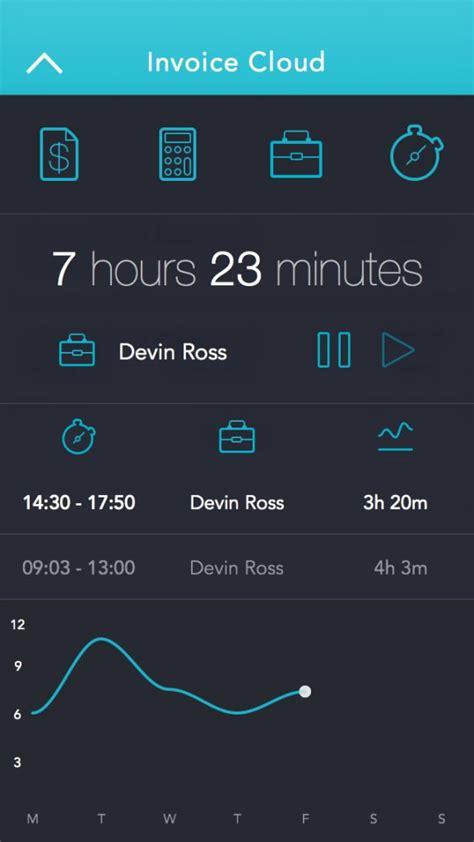 design invoice app 4 ios7 app design invoice management app ios 7 app