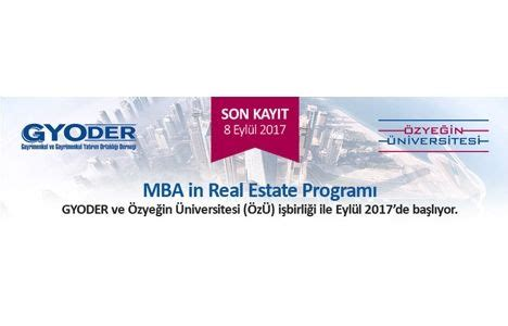 Mba In Real Estate And Infrastructure by Eğitim Sayfa 2 Emlakkulisi