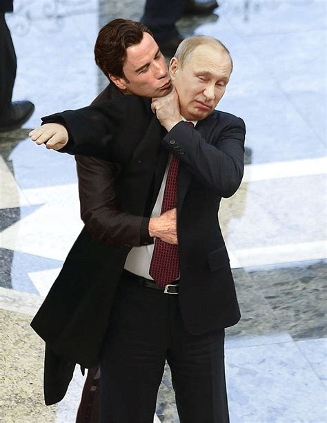 Travolta Meme - john travola s creepy scarlett johansson kiss at oscars is