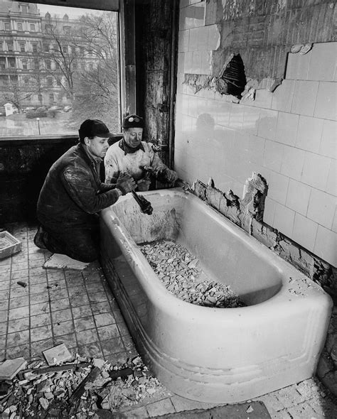 president bathtub when president truman utterly gutted the white house