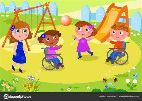 imagenes niños jugando preescolar ni 241 os jugando voleibol con los ni 241 os en silla de ruedas