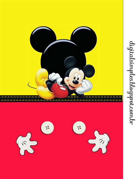 mickey in yellow and red free printable party kit is it