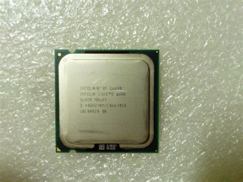 Intel Q6600 Sockel by Intel 2 Processor Q6600 8m 2 40 Ghz Lga 775 Socket 775 Negeri Sembilan End Time 5