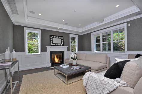 wainscoting living room photos hgtv