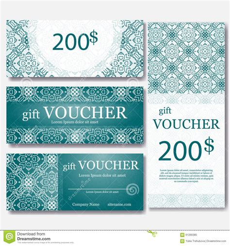 Ignitewoo Gift Create Gift Card Template by Gift Voucher Template With Mandala Design Certificate For
