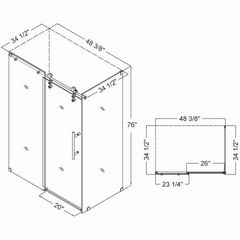 shower size shower enclosures sizes standard shower stall size