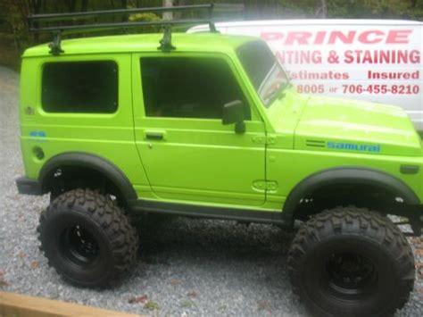 Lime Green Suzuki Purchase Used Lime Green Hardtop In Morganton