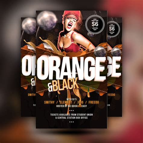 club flyer templates psd free psd poster templates for 2015 festive season