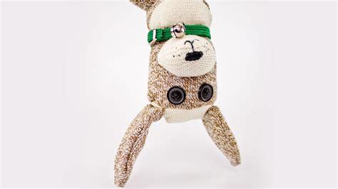 sock puppy pattern sock professor pincushion