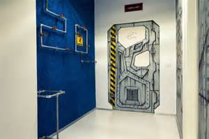 Safety door besides interior furniture cool spiral staircases design