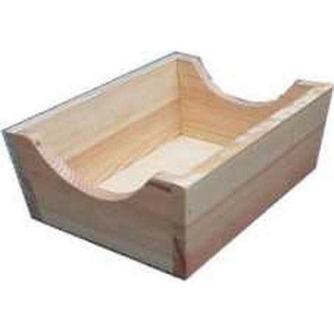 kloeppelshop wooden table stand for roller pillow