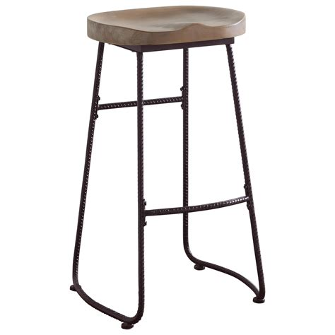 Saddle Seat Bar Stool Coaster Dining Chairs And Bar Stools Rustic Bar Stool With Saddle Seat Sol Furniture Bar