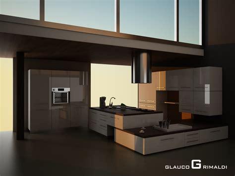 cucina e wenge glauco design immagine 3 cucina weng 232 e bianco lucido