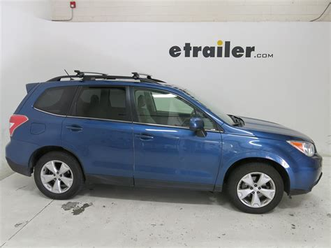 roof rack for subaru forester thule roof rack for subaru forester 2014 etrailer