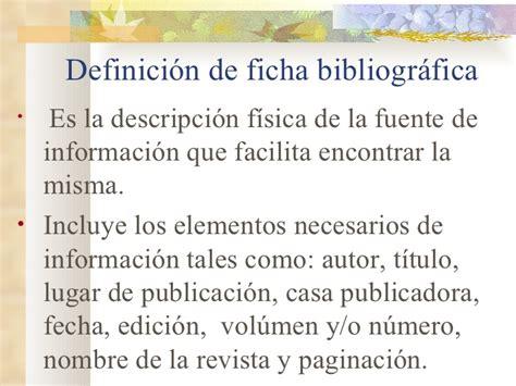 definicion y caracteristicas de un libro tipos de fichas bibliogr 225 ficas