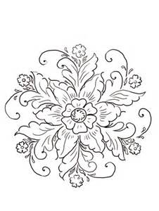 Norwegian Rosemaling coloring page   SuperColoring.com Elmo Face Coloring Page