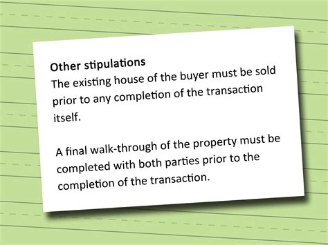 contract for buying a house how to write a contract for buying a house 13 steps