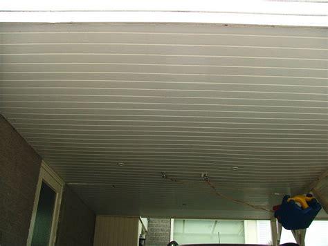 kunstof plafond kunststof schroten plafond plaatsen