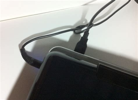 Keep Cables From Falling Desk by Tip Use A Knot In Your Cables To Prevent Them From