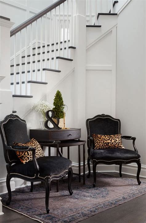 suzann kletzien french chairs leopard pillow and foyers on pinterest