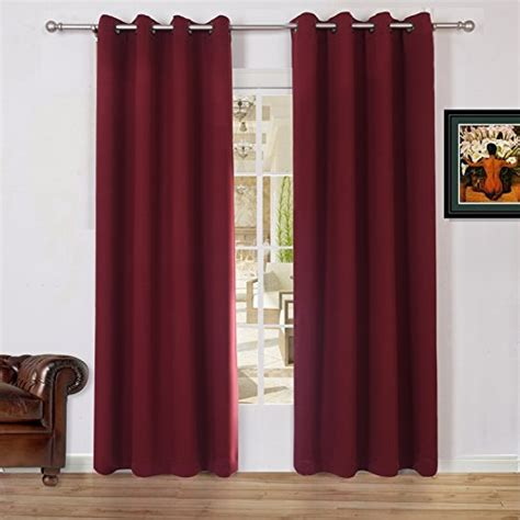54 length curtains lullabi solid thermal blackout window curtain drapery