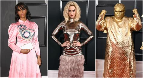 Grammy Wardrobe by Fashion At The Grammy Awards 2017 Was Something Else