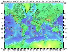 map of volcanoes in canada submarine volcanoes crystalinks