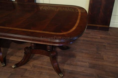 large and wide mahogany dining table seats 14 16 ebay