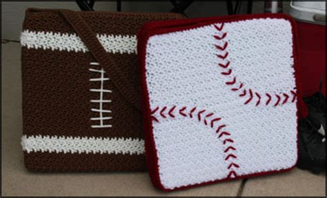 Football Pillow Pattern by Play Pillow And Stadium Cushions