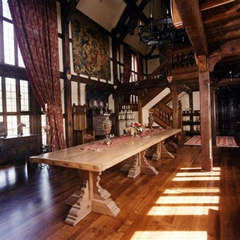 medieval house interior my ideal dinning room plenty of room for friends and