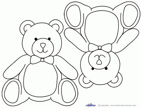 printable caricature templates teddy bear coloring pages templates many interesting cliparts