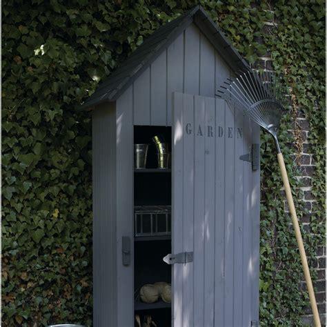 armoire de jardin bois wissant naturelle l 78 x h 190 x p