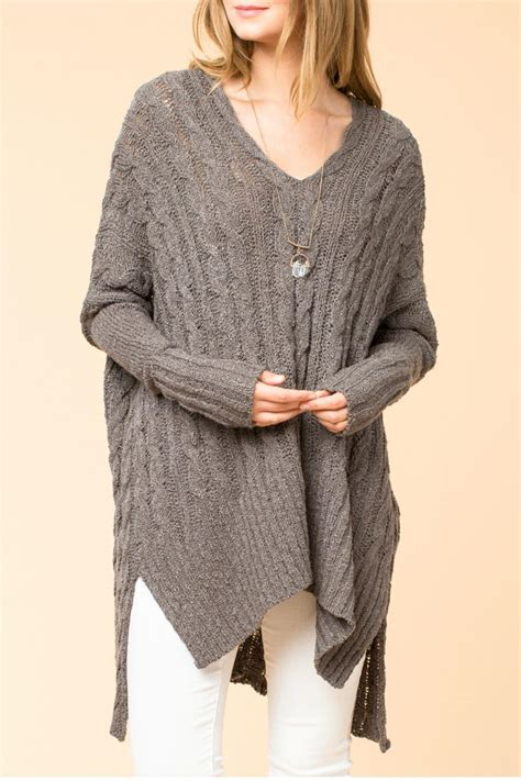 oversized cable knit sweaters hyfve oversized cable knit sweater from branford by