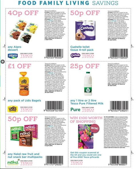 printable shopping vouchers tesco tesco online coupons uk apple store student deals 2018