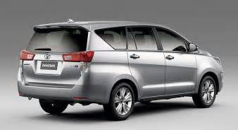 Toyota Philippines Calculator 2016 Toyota Innova Not Coming To Sa Cars Co Za