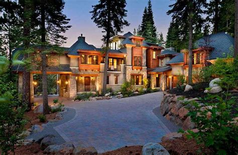 Luxury Mediterranean House Plans dream house california mountain mansion 12 photos